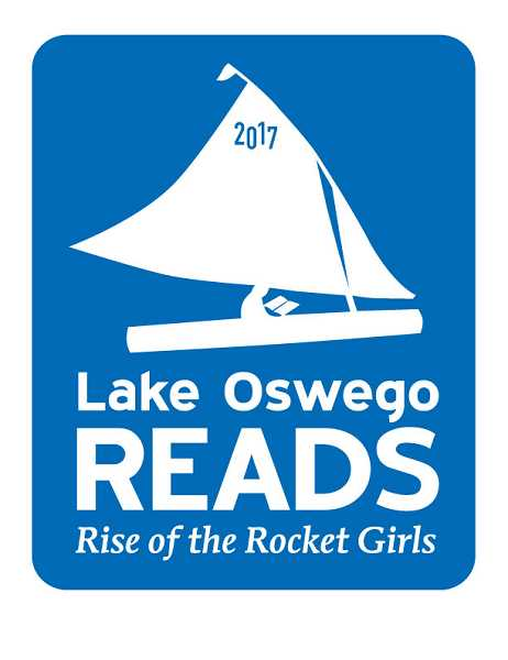 SUBMITTED PHOTO - The logo celebrates Lake Oswego and the latest book selection.