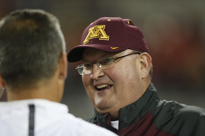 Minnesota coach hopes Beavers are Gophers' first step on road to Big Ten title game