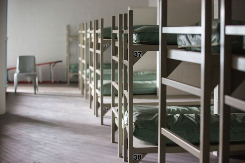 PORTLAND TRIBUNE: JAIME VALDEZ - Multnomah County's unopened Wapato jail is equipped to accomodate over 500 people.