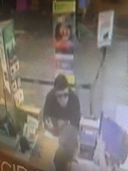 SUBMITTED PHOTO - Beaverton Police said this man attempted to rob the customer service desk at the Beaverton Fred Meyer on Monday evening. They want the public's help to identify him.