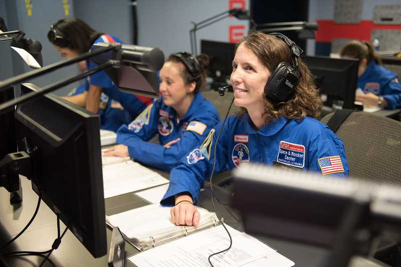 FGHS life-skills teacher travels to space camp