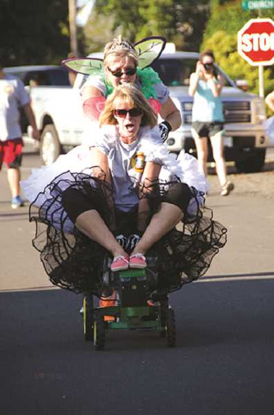 Pedal tractor races a mainstay for Oktoberfest kickoff
