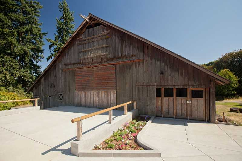 SUBMITTED PHOTO - The historic Stein-Boozier Barn, built in 1901, has skyrocketed in popularity due to its list of amenities and affordable price point.