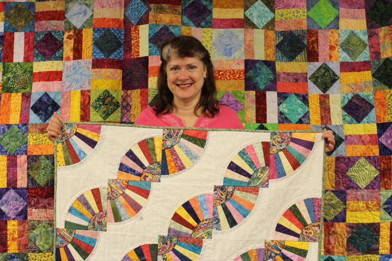 Pamplin Media Group Quilters Feature Colorful Work During Biannual