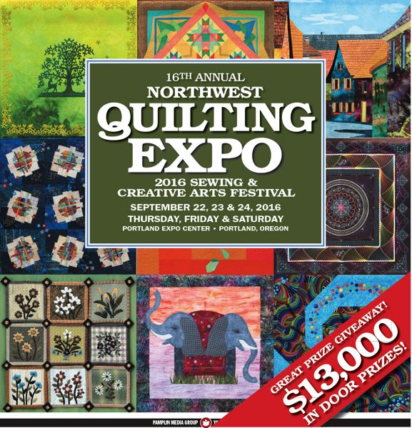 (Image is Clickable Link) NW Quilters Expo 2016
