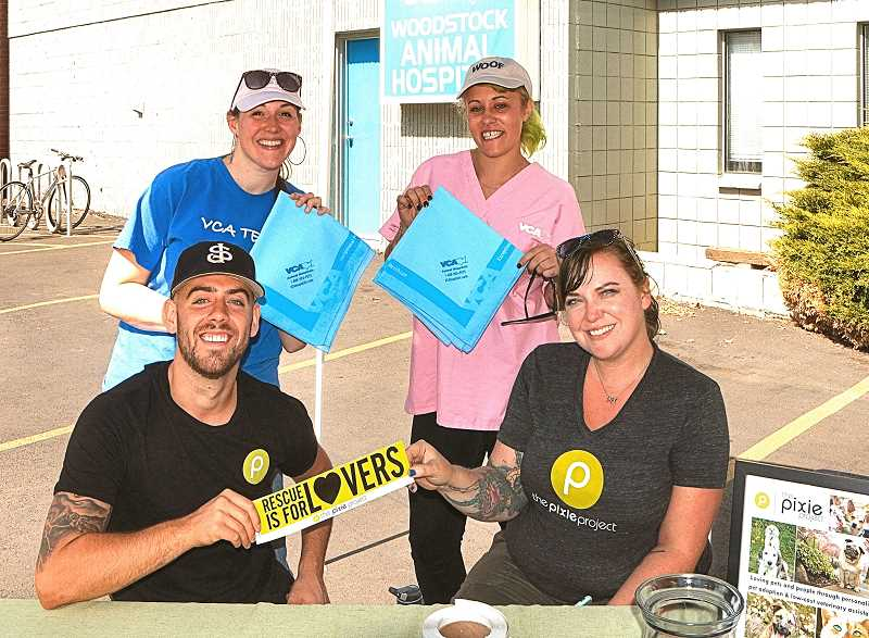 Woodstock Businesses host second 'Give Back' day