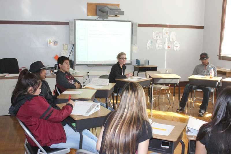 Pamplin Media Group - Bridges HighSchool opens doors