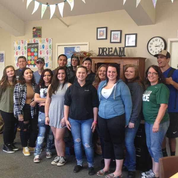ESTACADA NEWS PHOTO: EMILY LINDSTRAND - Students in the Road to Success program appreciate the laid back yet productive atmosphere.