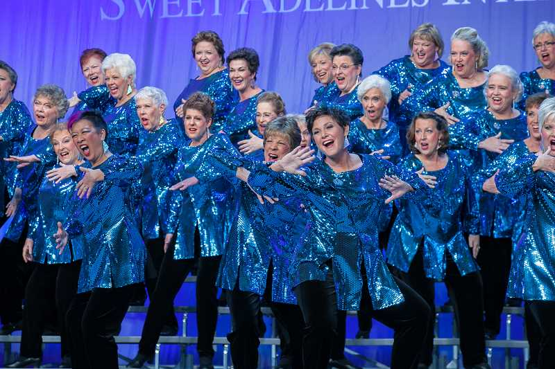 SUBMITTED PHOTO  - Pride of Portland Chorus will present a preview concert of its What Happens in Vegas competition repertoire Oct. 1 at 3 p.m. The concert is a fundraiser for their trip to Las Vegas for the competition, plus a chance for the community to learn about womens a cappella singing.