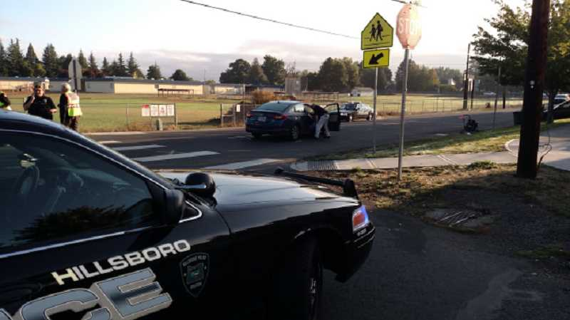 KOIN 6 NEWS - Two kids and their mother were hit by a car in Hillsboro, September 21 2016.