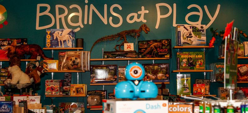 HILLSBORO TRIBUNE PHOTO: TRAVIS LOOSE - iSpark Toys at Orenco Station in Hillsboro offers toys that make kids think.