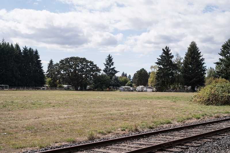 NEWS-TIMES PHOTO: CHASE ALLGOOD - The Fogarty family wants to develop its Cornelius land, located just south of Council Creek and west of N.W. 341st Avenue, up against the Hillsboro border.