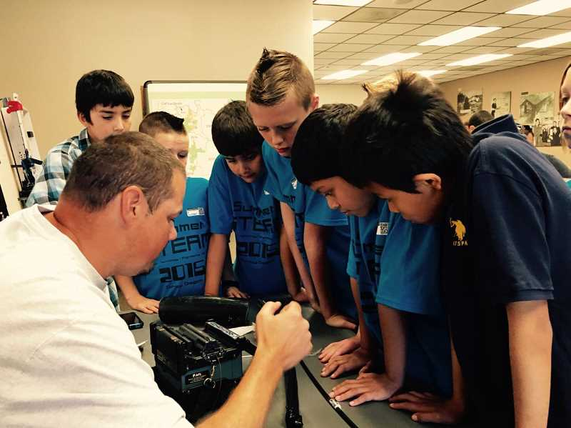 CANBY TELCOM - STEAM offers kids hands-on technical training