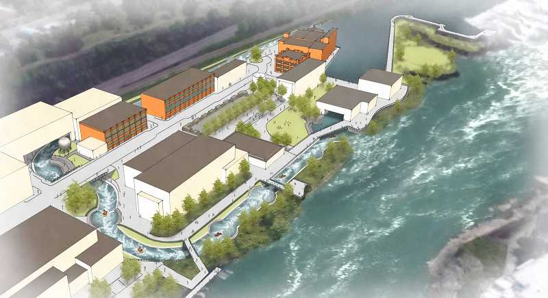 Riverwalk won't include  a whitewater park
