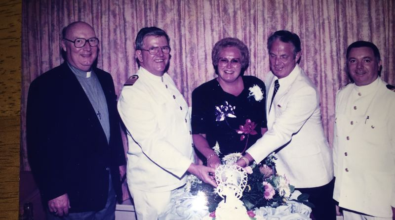 COURTESY PHOTO - Donald Lee Robertson (second from the right), enjoys a cruise with his wife, Shirley.