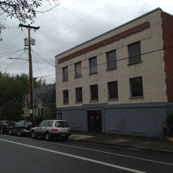 PORTLAND TRIBUNE FILE PHOTO - Housing advocates say city may block plans to turn a vacant building at 1727 NW Hoyt St. into senior low-income housing.