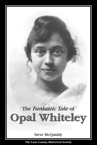 COURTESY OF STEVE MCQUIDDY - Author Steve McQuiddy will discuss 'The Fantastic Tale of Opal Whiteley' at 7 p.m. at the Elsie Stuhr Center, 5550 S.W. Hall Blvd.