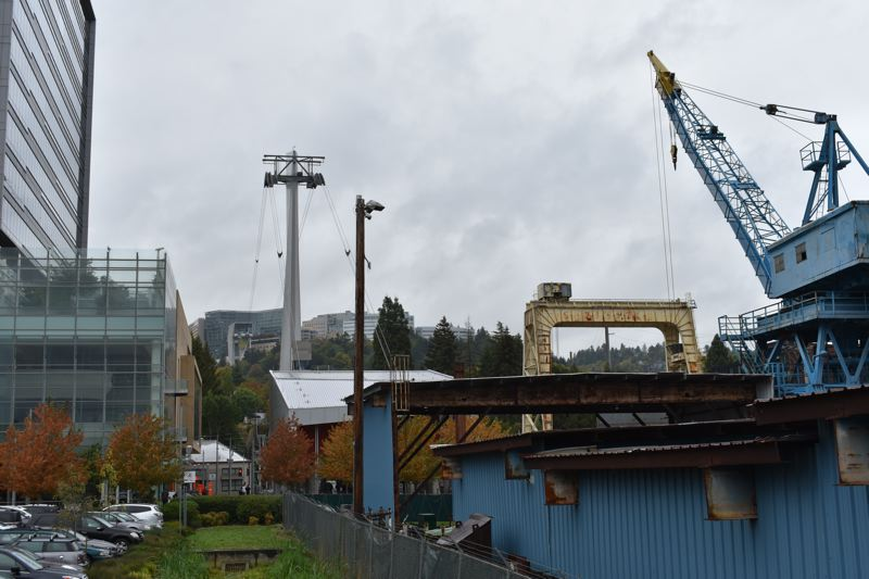 PAMPLIN MEDIA GROUP: JOSEPH GALLIVAN - Zidell Marine is getting out of the barge building business when its large barge is built in spring 2017.  Family patriarch Jay Zidell is refocusing on developing 33 acres of prime South Waterfront, right next to OHSU's Center for Health and Healing and the Tram.
