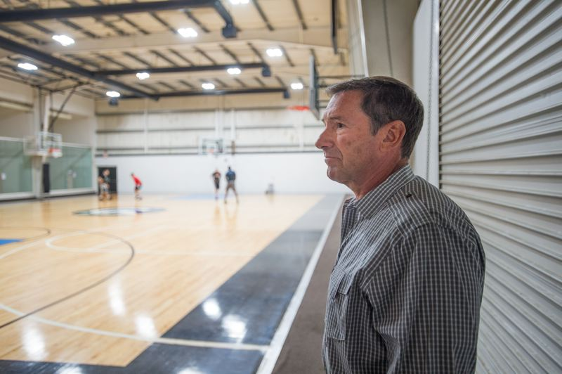 OUTLOOK PHOTO: JOSH KULLA - Cascade Athletic Club owner Mark Eisenzimmer says his business would be hurt if a proposed public community center and pool is built in Gresham.