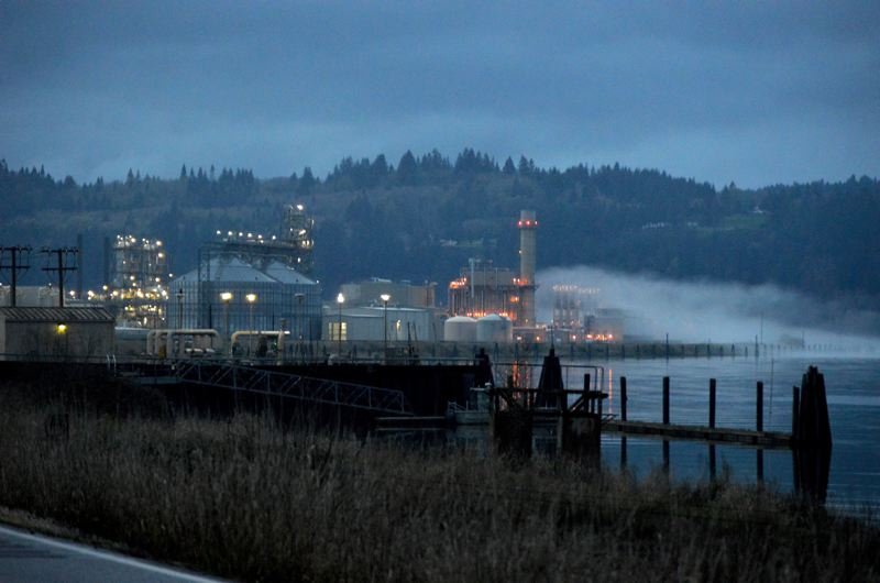 SPOTLIGHT FILE PHOTO - Port Westward in Clatskanie is one of the largest industrial properties in Columbia County. A split vote from Port of St. Helens commissioners authorized the agency to spend extra money on trying to get agricultural land at the site to be rezoned for industrial use.