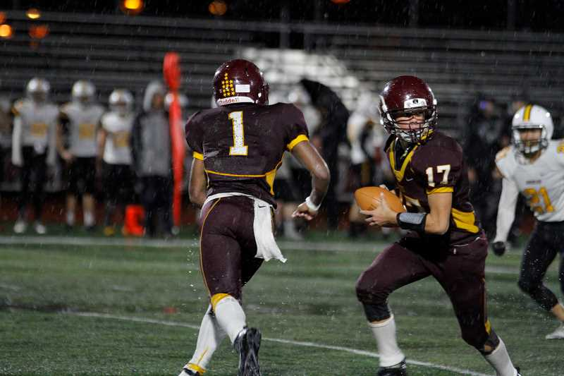 Forest Grove battles wind, rain, and the Raiders, lose to Crescent Valley, 27-8