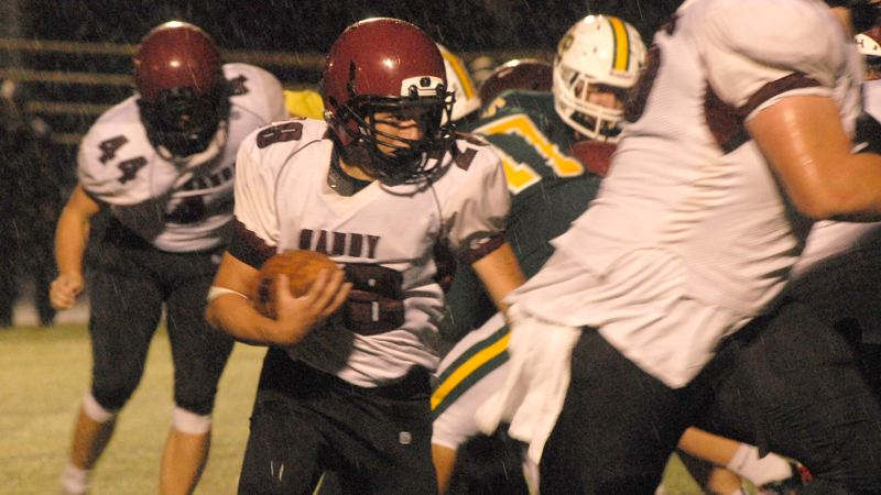 Sandy takes down Putnam on rain-soaked evening