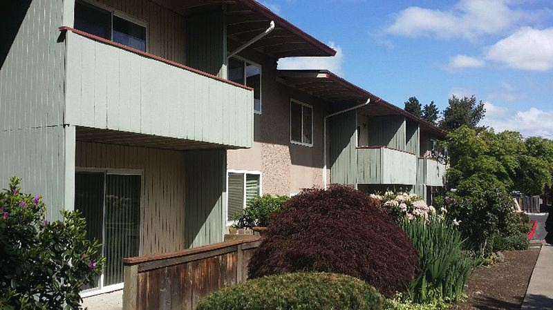 SUBMITTED PHOTO - Trion Properties recently acquired the Hidden Villas apartment complex on Farmington Road for $7 million. Trion has announced plans for a major upgrade to the 61-unit property.