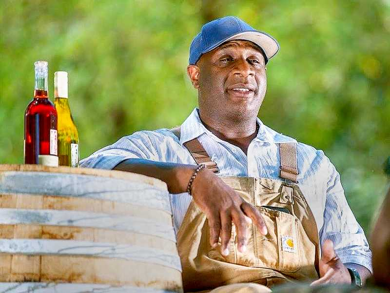 SUBMITTED - North Plains winemaker Bertony Faustin will speak in Newberg on Friday, appearing at the Oregon Humanities' 'Think & Drink' event series. Faustin, often referred to as the first black winemaker in Oregon, is working on a documentary about minorities in the wine industry.