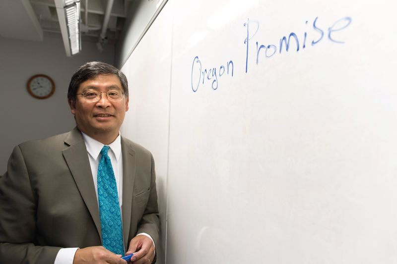 Portland Community College's Mark Mitsui comes back to school