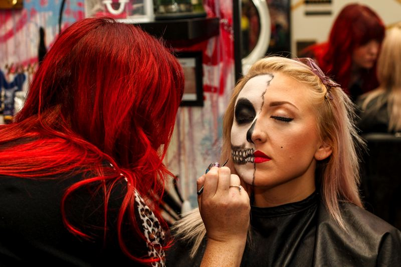 Hillsboro hairstylist makes monsters (and princesses) this Halloween