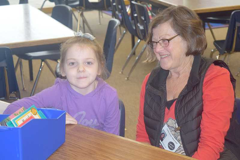 Joint efforts bring reading mentors program to Knight Elementary School
