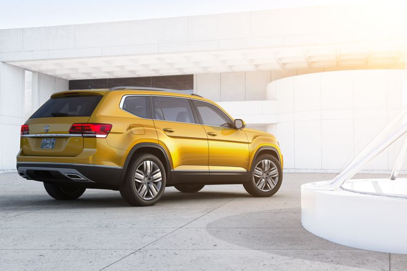 COURTESY VOLKSWAGEN - Volkswagen has been slow to bring such a large SUV to market, but we found the new Atlas to be competitive both on and off road.