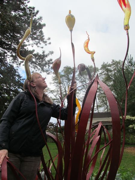 Ainsworth House & Gardens hosts 'Budacious' sculpture in Oregon City