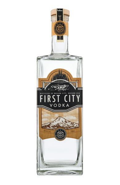 PHOTO COURTESY: SARA BRENNAN - First City Vodka is handcrafted from wheat and triple filtered through limestone.