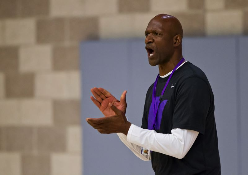 COURTESY: UNIVERSITY OF PORTLAND - The familiar face of former Trail Blazers star Terry Porter will be seen on the sidelines at the University of Portland this season as he takes over as coach of the Pilots.