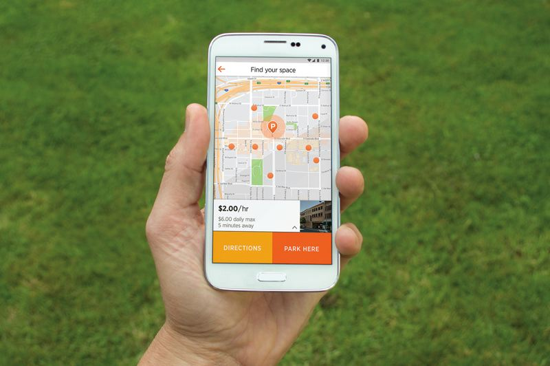 COURTESY: CITIFYD - Pasadena has adopted Citifyd's parking share app quicker than Portland.