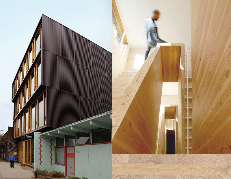 SUBMITTED: AIA - Albina Yard, a creative office by Lever Architecture, is one of this years submissions.