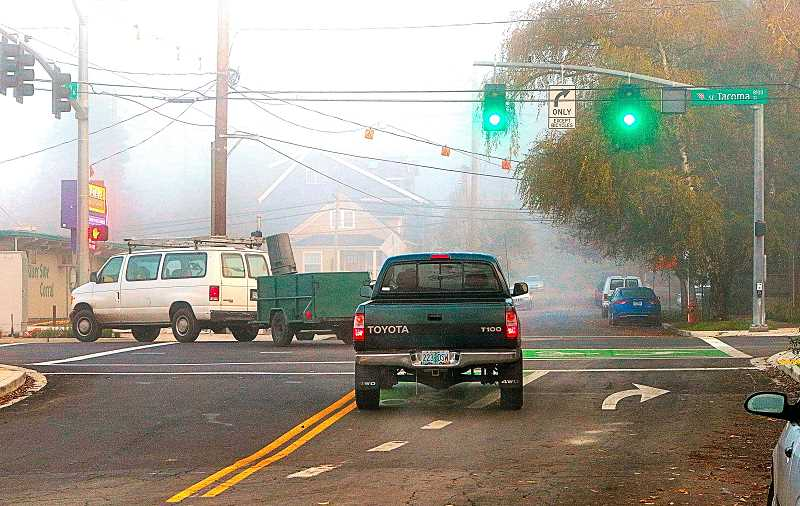 Motorists constantly making illegal turns onto Tacoma Street