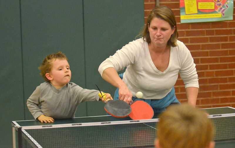 Bolton's table tennis night proves a smashing success