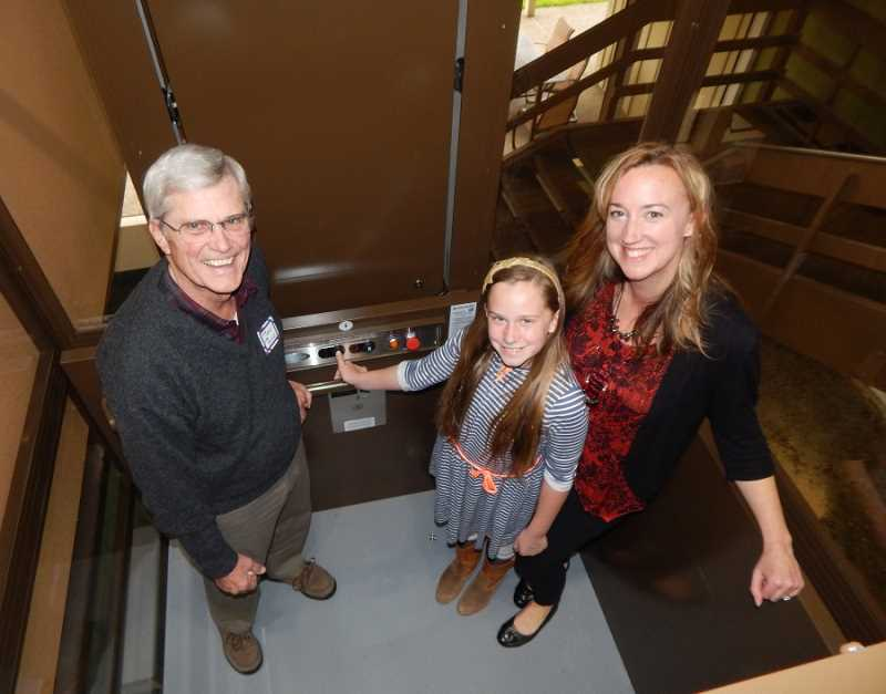 Summerfield residents now can take a 'lift' in the Clubhouse