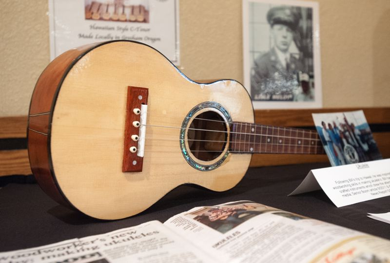 OUTLOOK PHOTO: JOSH KULLA - Bill is a talented woodworker and luthier who crafts hand-made ukeleles. He and his work was featured in a 2011 issue of Boom! magazine.