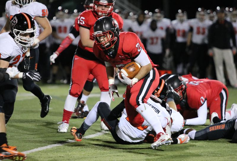 Clackamas run game too much for Beaverton, 29-21