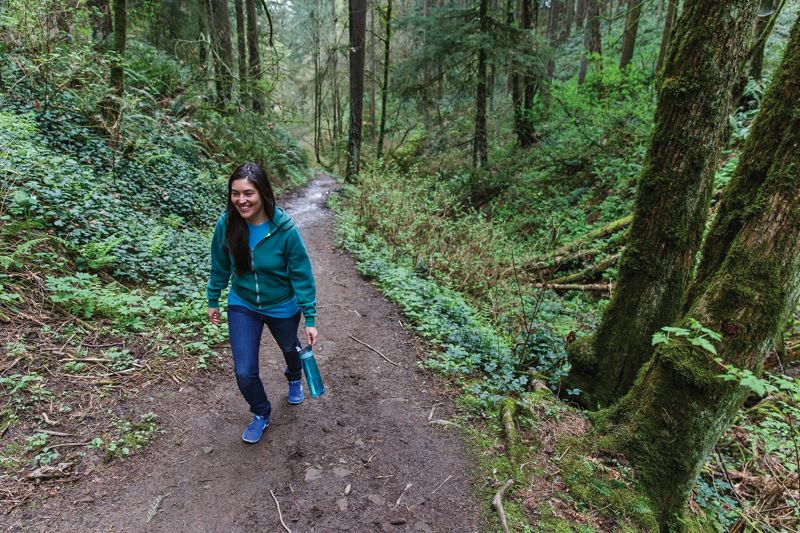 COURTESY: THE PORTLAND CLINIC  - Hiking is just one of the activities Portlanders enjoy as part of a healthy lifestyle.