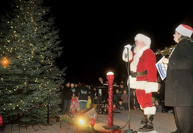 Tree lighting: The tradition will continue