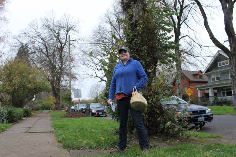 City forcing Portland resident to remove trees at her expense