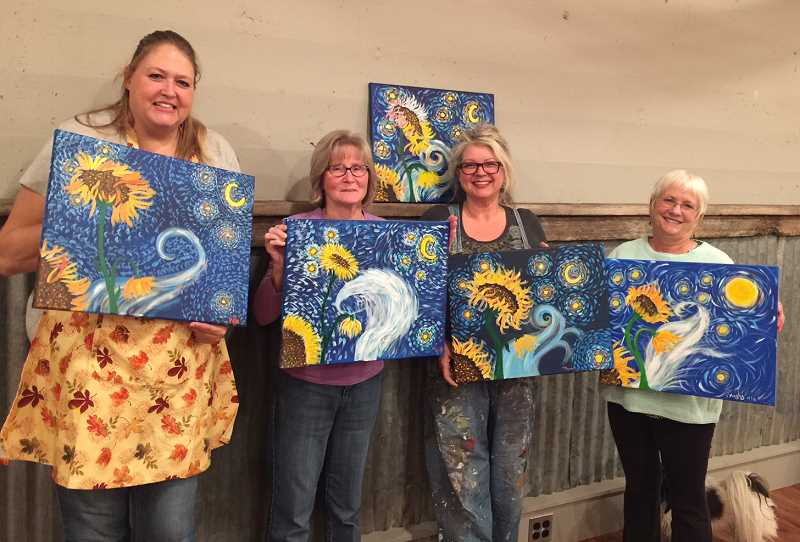 Local residents choose painting over shopping on Black Friday