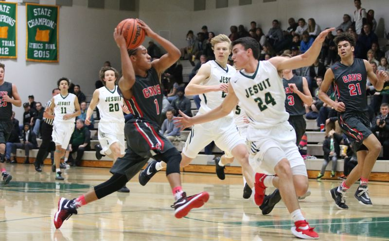 Clackamas boys drop opener at Jesuit, 85-76