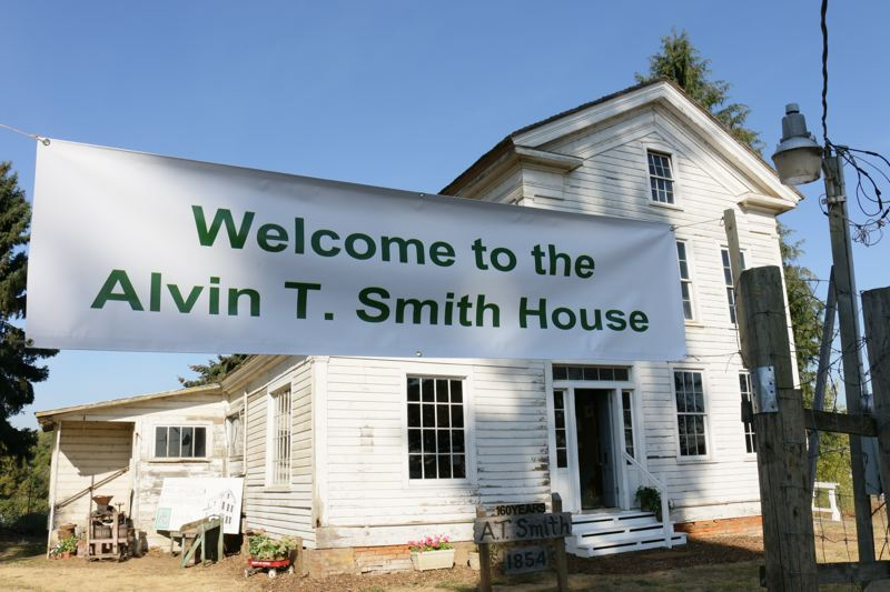COURTESY: BRIAN LIBBY - The Alvin T. Smith House is Forst Groves oldest building, dating to 1854.