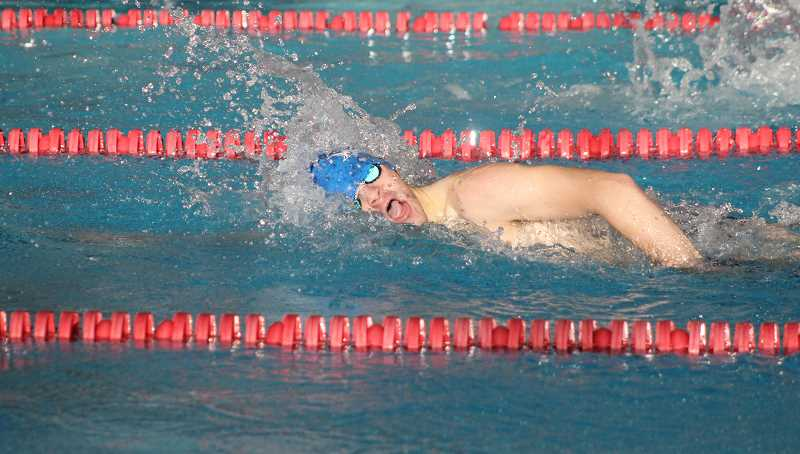 Buffs swimmers test waters at Madras Relays