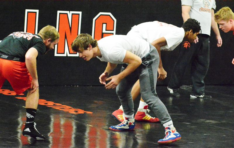 Eggers and Jones emerge as early District 1 wrestling championship contenders